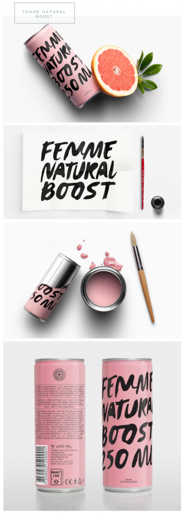 Femme Natural Boost #prettypackaging
