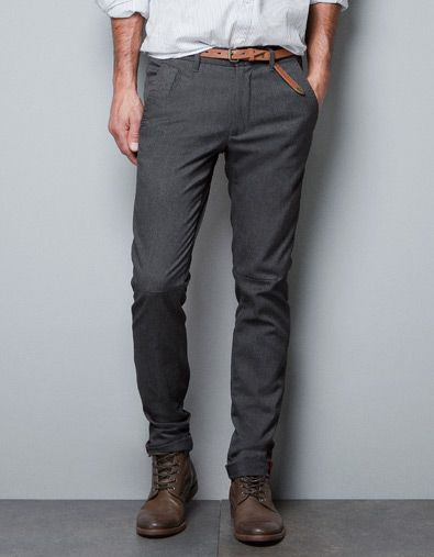 17d0eae7e4d72 STRUCTURED CHINOS - Trousers - Man - ZARA United States | My Style ...