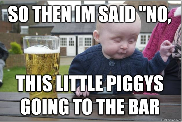 Funny Drunk Meme Pictures : Meme baby 21 47 am a baby walks into a bar . . . and the drunk