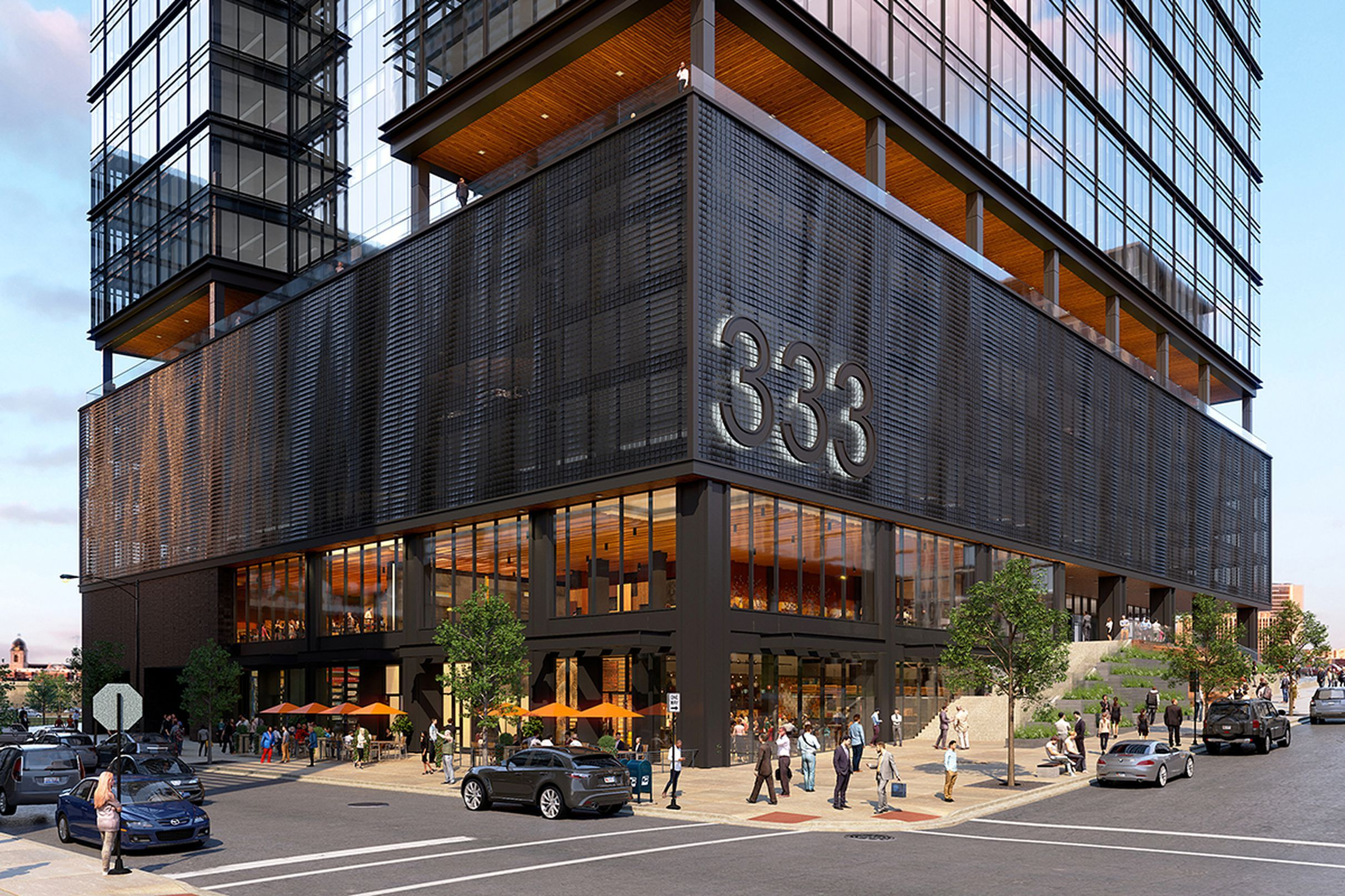 Developer reveals plans for three west loop office towers