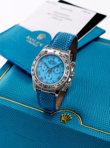 Rolex Daytona Beach 116519 Blue