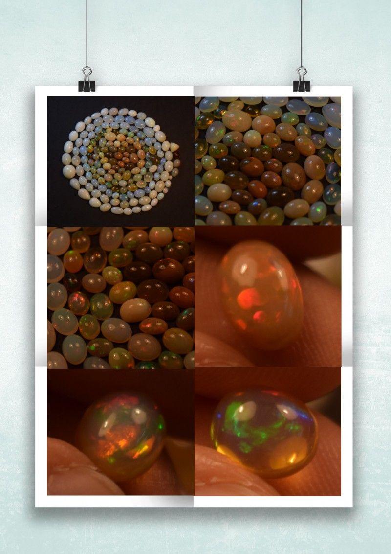 324.05 Ct WHOLESALE LOT Ethiopian Welo Natural Opal OL