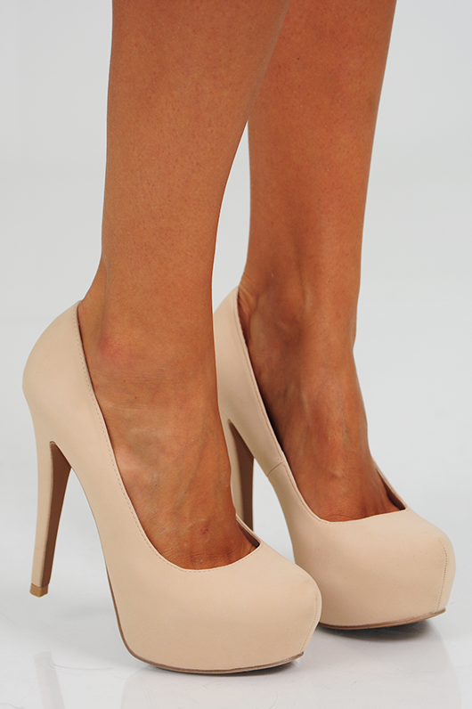 Step Up Your Game Heels: Cream ❤Nude pumps are amazing!! I have ...