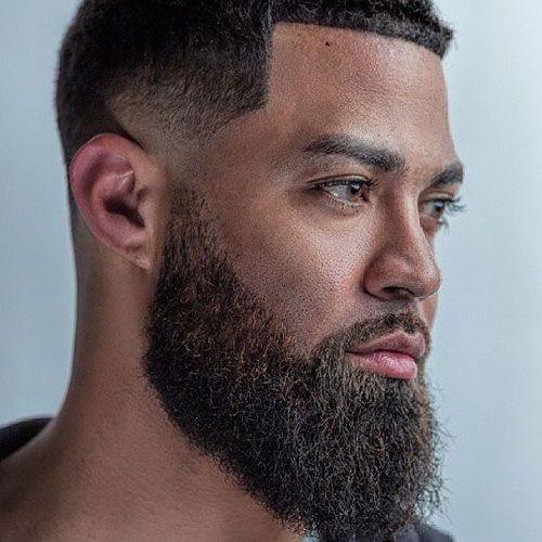 Pin On Black Bearded Men