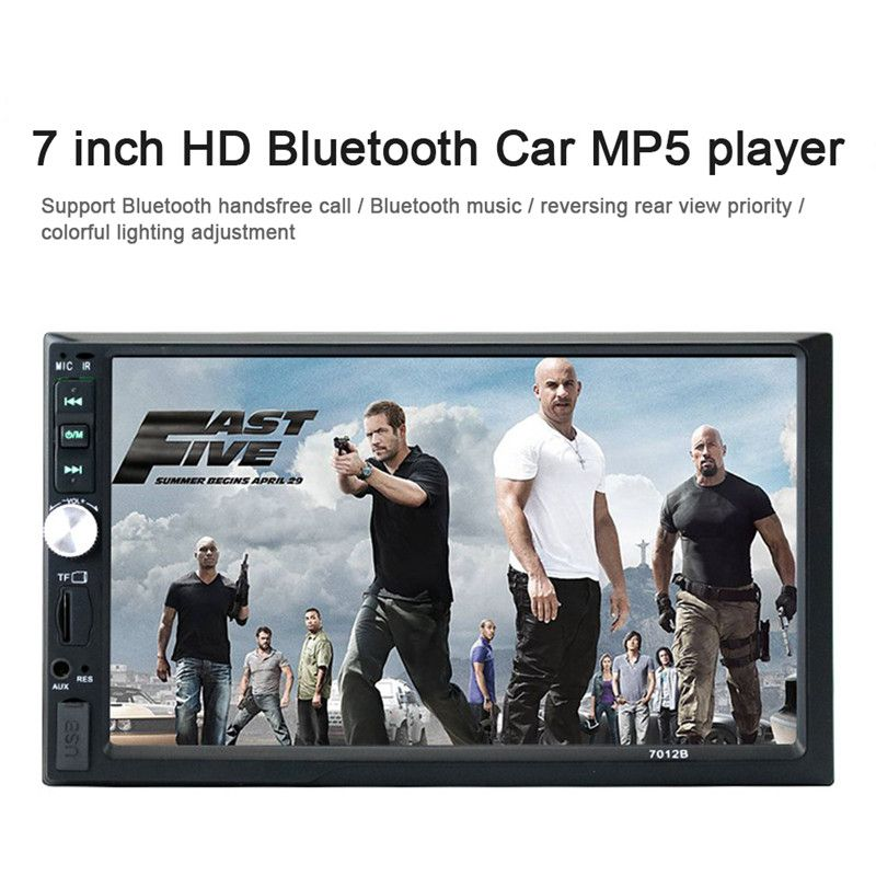 7012G 7 Inchs LCD Touch Screen Universal 2 Din Car Video Player Car