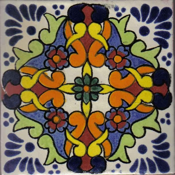 Pin by cristina moreno zapatero on azulejos talavera de la for Azulejo de talavera mexico