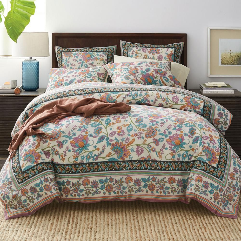 The Company Store Deerfield Garden Multicolored Floral