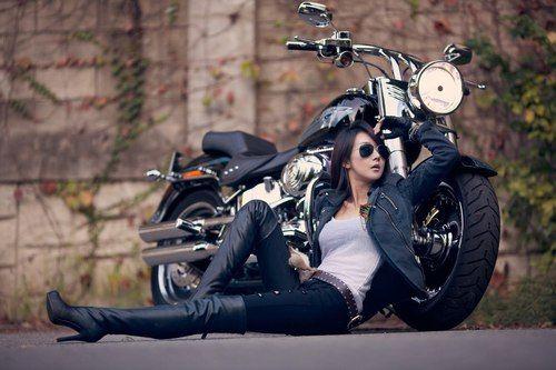 Moto Woman Music  Biker Photoshoot, Biker Photography -2223