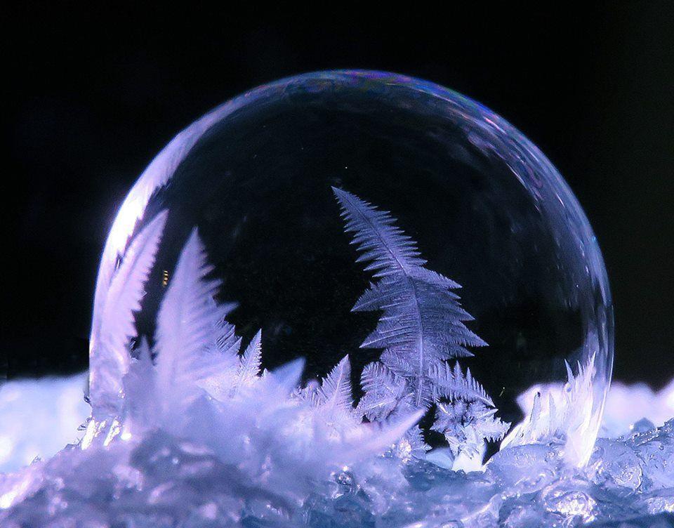 voici ce qui arrive lorsque l 39 on fait des bulles de savons dans le froid glacial. Black Bedroom Furniture Sets. Home Design Ideas
