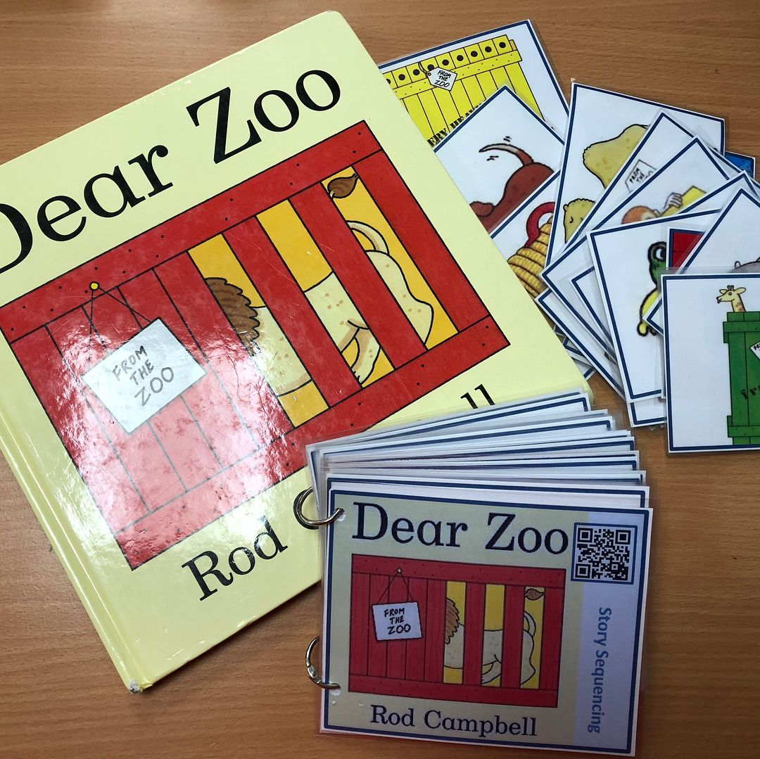 Dear Zoo Sequencing Book Brilliant For Eal Send Children