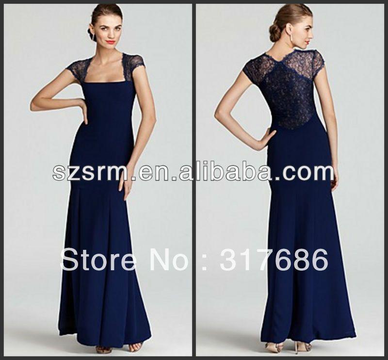 292265ada2ef9 Compare Prices on Navy Blue Lace Chiffon Mermaid Evenig Dress ...