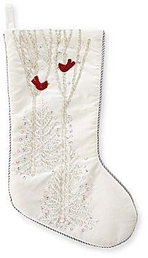 Shop for MarthaHolidayTM Arctic White Velvet Christmas Stocking by JCPenney at ShopStyle. Now for Sold Out.