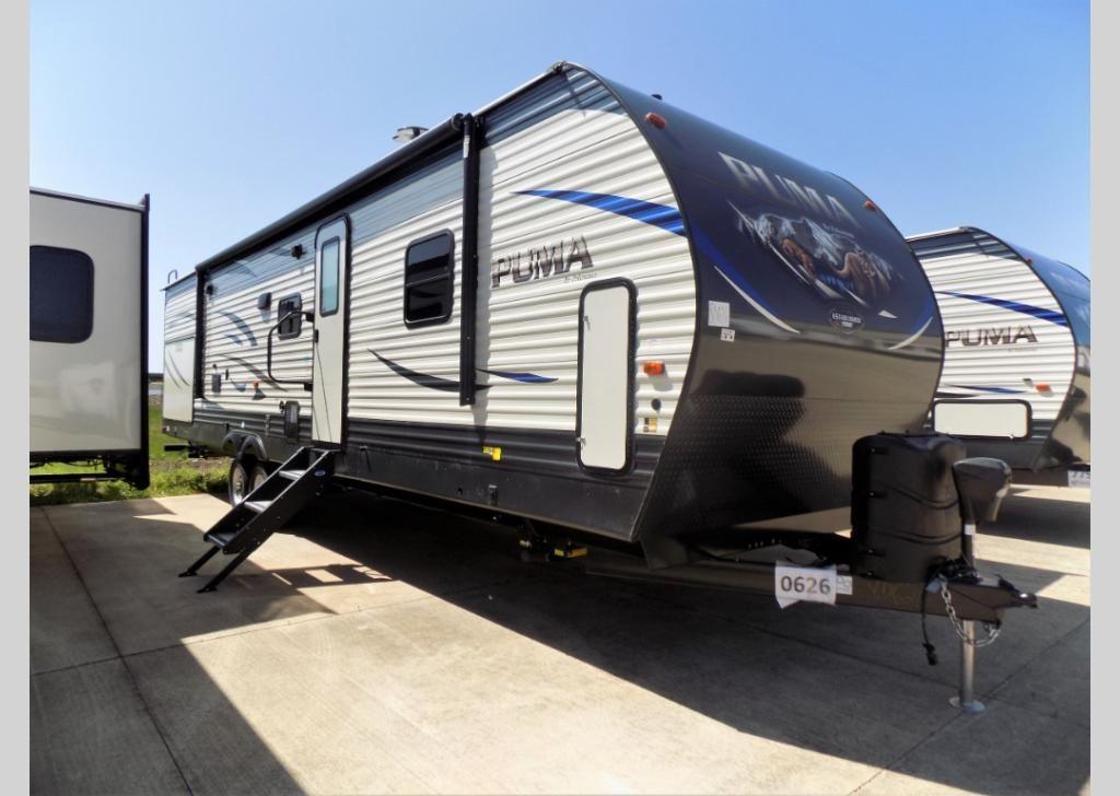 New 2020 Palomino Puma 32rbfq Travel Trailer At Pontiac Rv