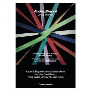 Anjunabeats Accessories Above Beyond Group Therapy A2 Poster