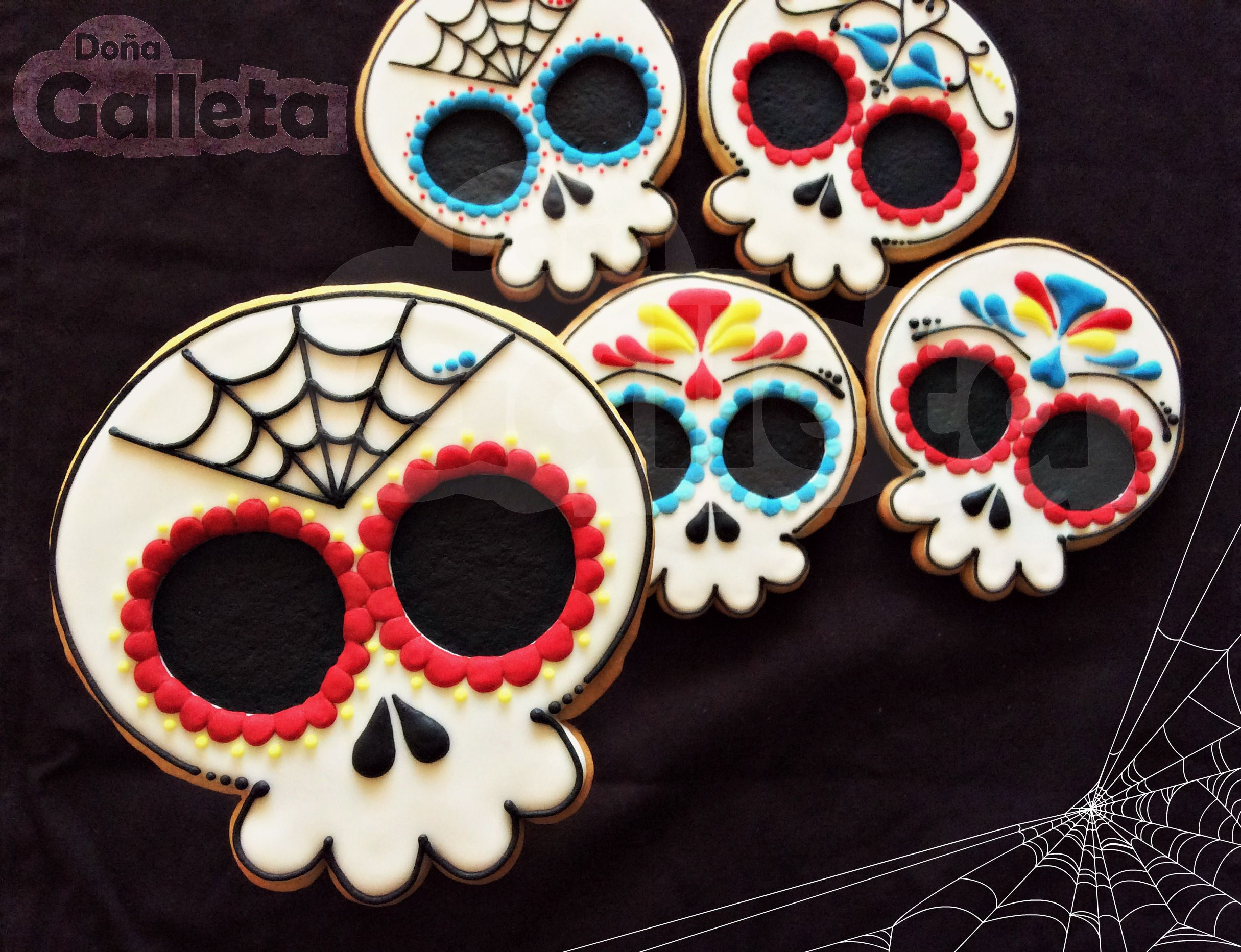 Galletas decoradas. Feliz Halloween