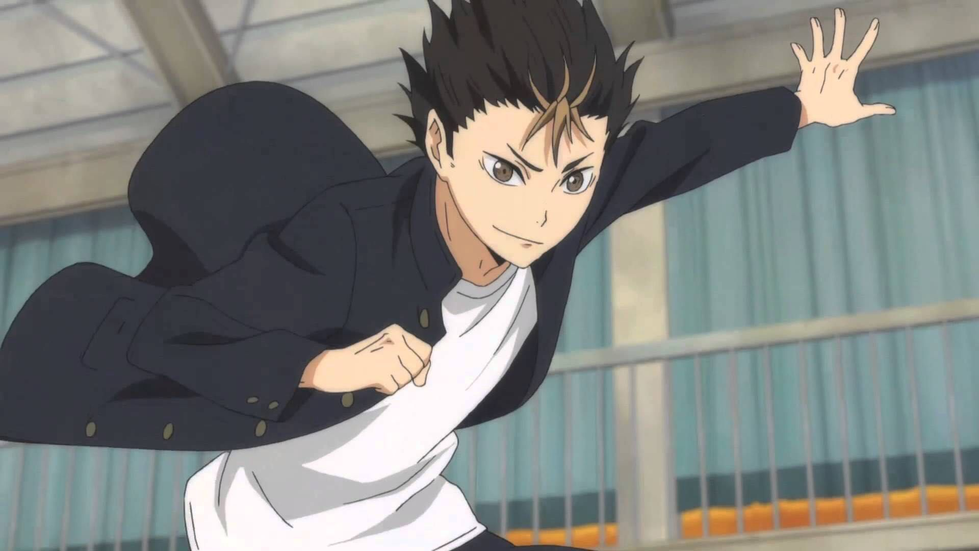 Pin By Tsuyoi This Isn T My Real Nam On Haikyuuuu Nishinoya Nishinoya Yuu Haikyuu Nishinoya