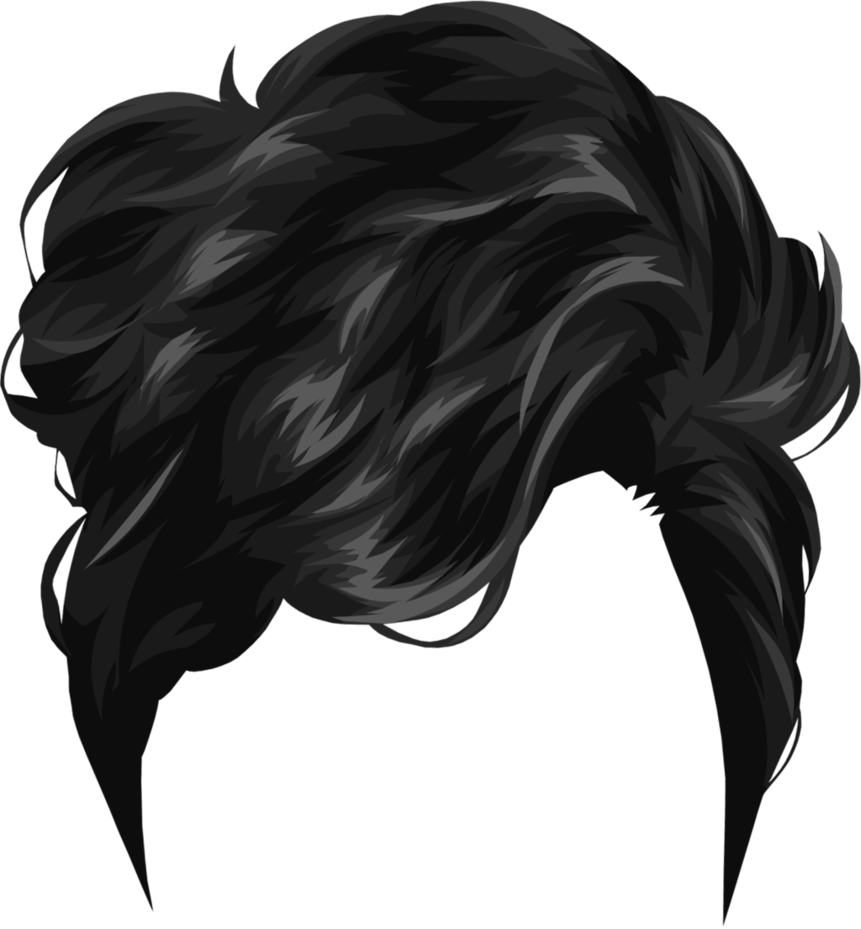 Women hair PNG image image with transparent background