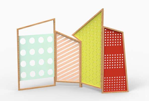 Folding Screens by Lorenz+Kaz