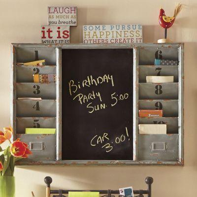 Diy Giant Chalkboard Kitchen Weekly Planner Weekly Wall Planner