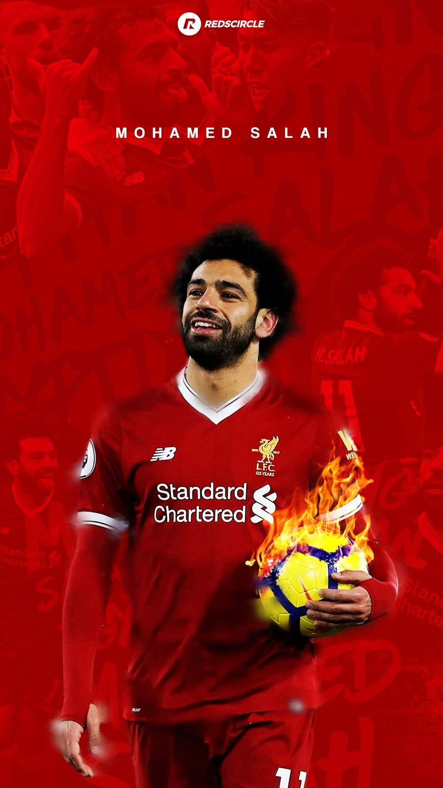 Wallpaper Mohamed Salah Mohamed Salah Liverpool Salah