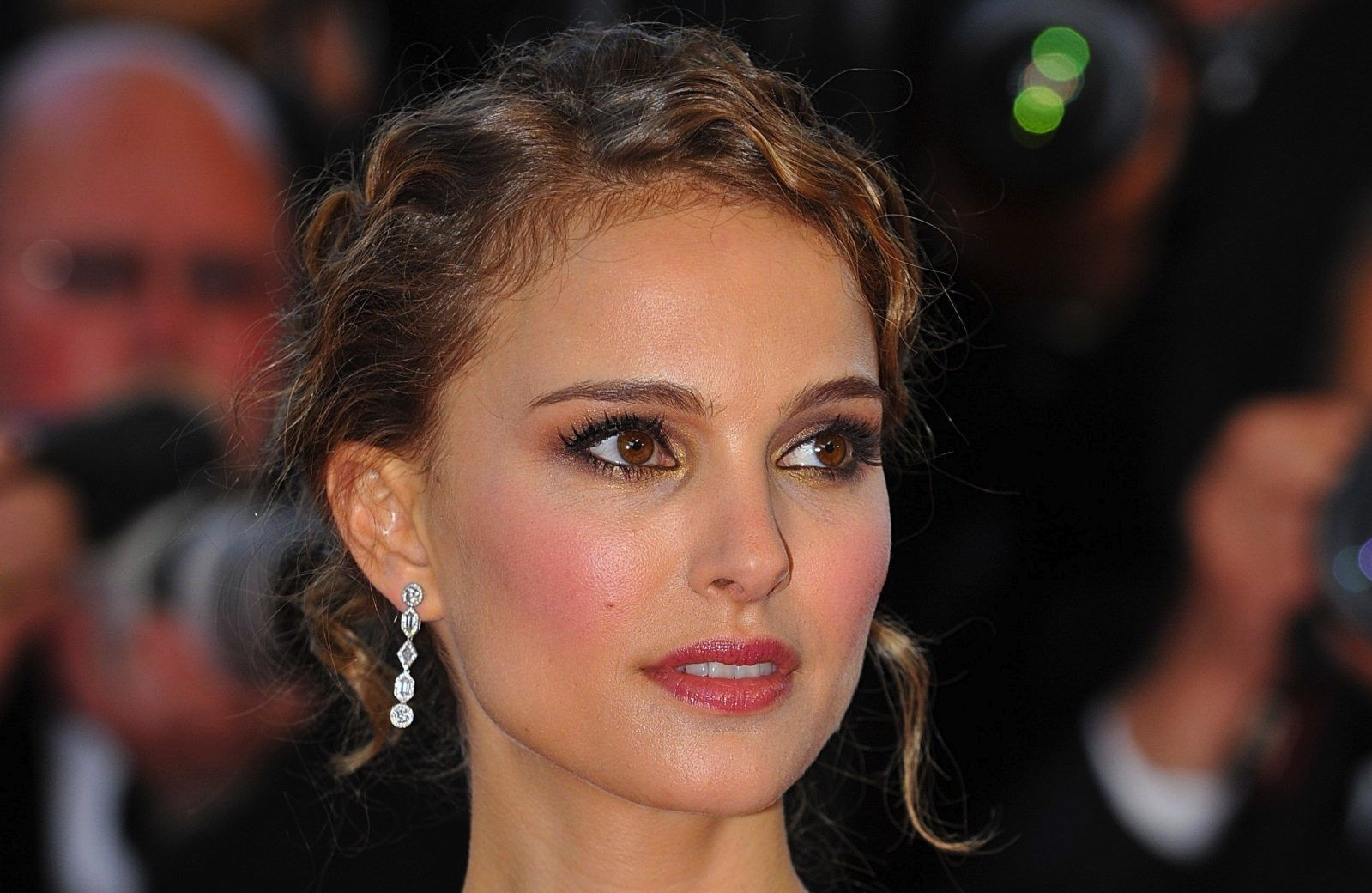 Natalie Portman was born in Jerusalem with the name Natalie Hershlag.