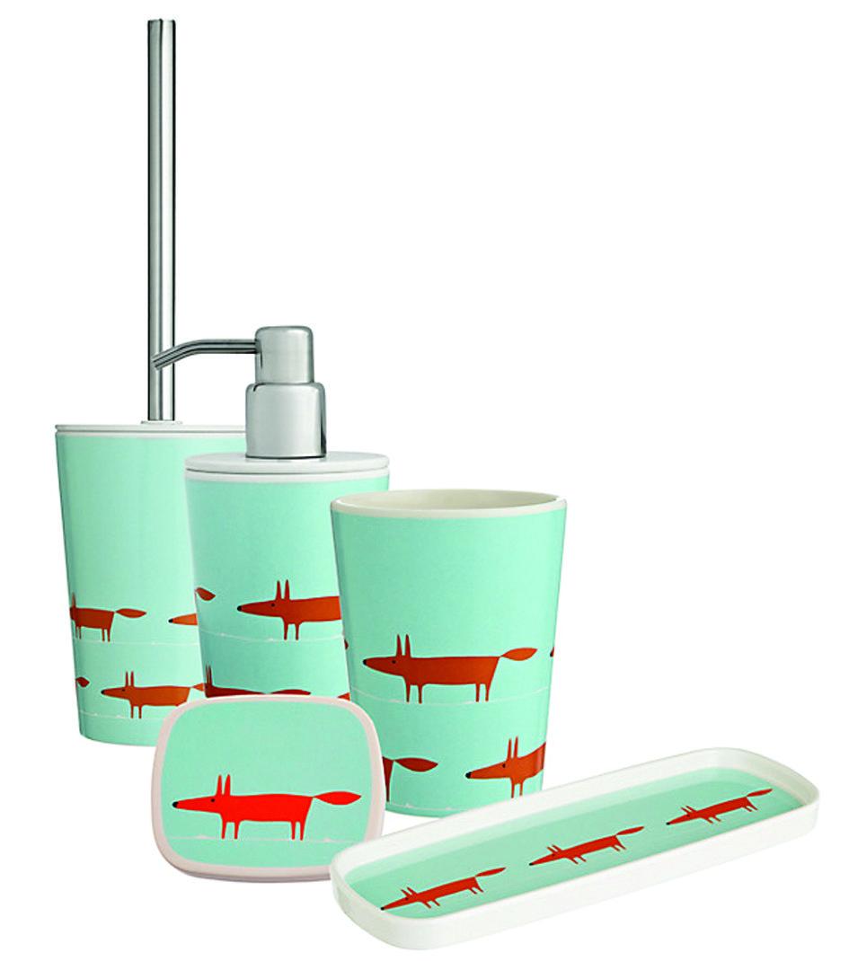 Mr Fox Bathroom Accessories By Scion Soap Dish Soap Dispenser