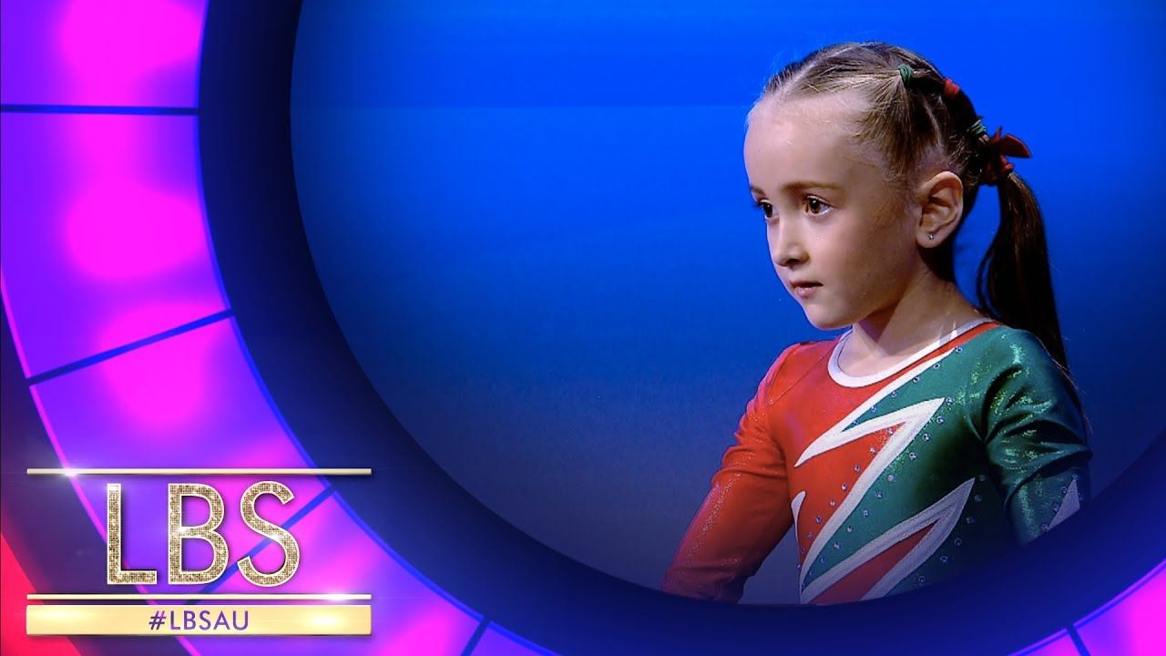 The Most Adorable 6 Year Old Gymnast Little Big Shots Australia Big Shot Gymnastics Youtube
