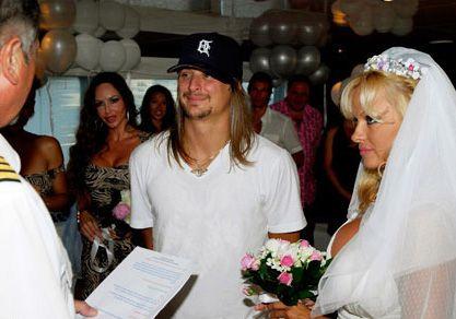 Official wedding ceremony of Pamela Anderson in her shoking bikini ...