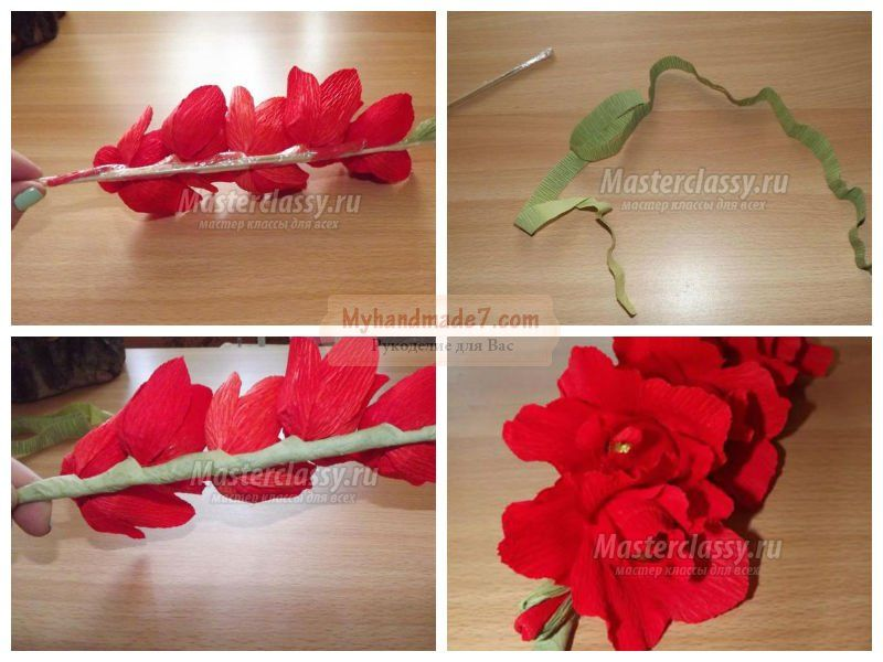 Как сделать из бумаги цветы? Лучшие идеи с пошаговыми фото 13