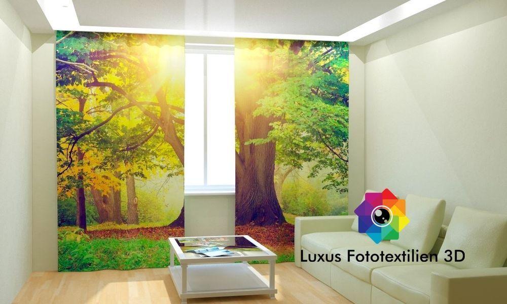 "Fotogardinen /""Abstrakt/"" Vorhang 3D Fotodruck Fotovorhang Maßanfertigung"