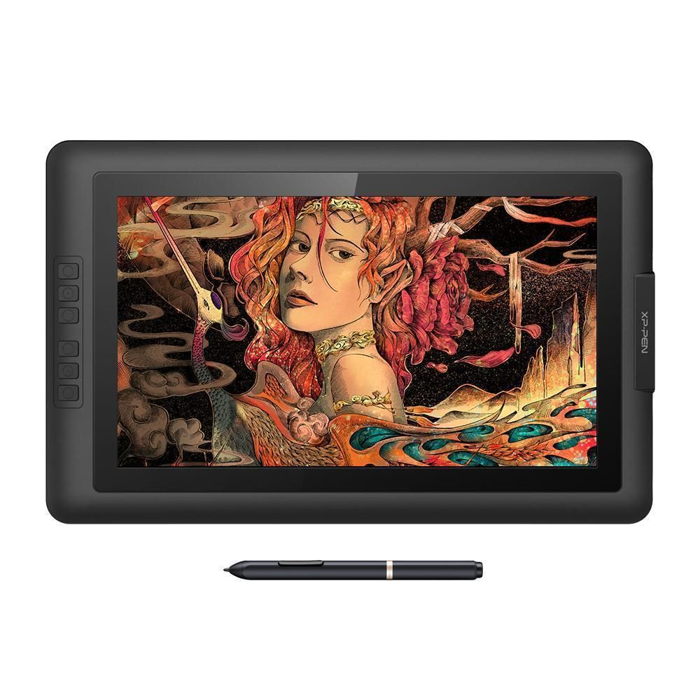 Xp Pen Artist Pro 15 6 Graphics Drawing Monitor With 8192 Levels Pressure Drawing Tablet Graphics Tablet Stylus
