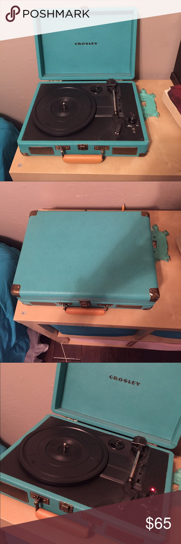 Crosley turntable/record player Teal record player! Brand new! Other