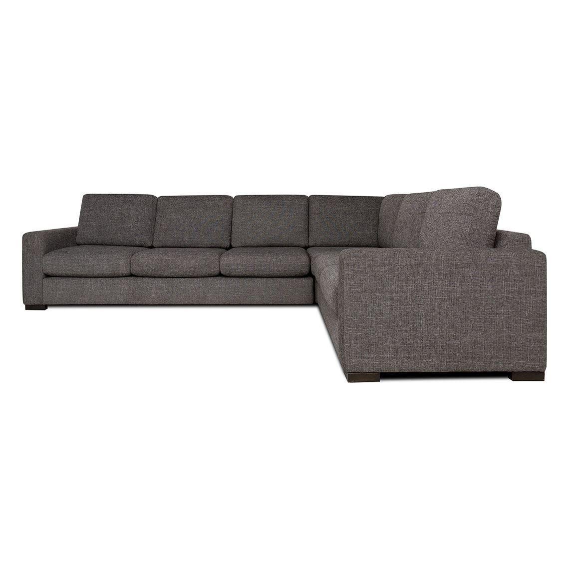 Signature Contemporary 6 Seat Fabric Corner Sofa With Right 2 Seat Modular Standard Granite Unique Sofas Corner Sofa Sofa