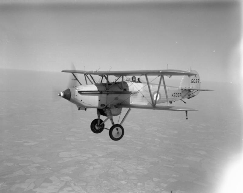 Hawker Nimrod II  Station Flight RN Gosport