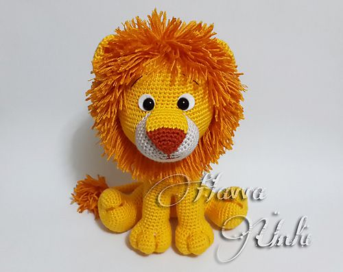 Lion Crochet Pattern Amigurumi : Lion amigurumi pattern by amanda maciel amigurumi ravelry and lions