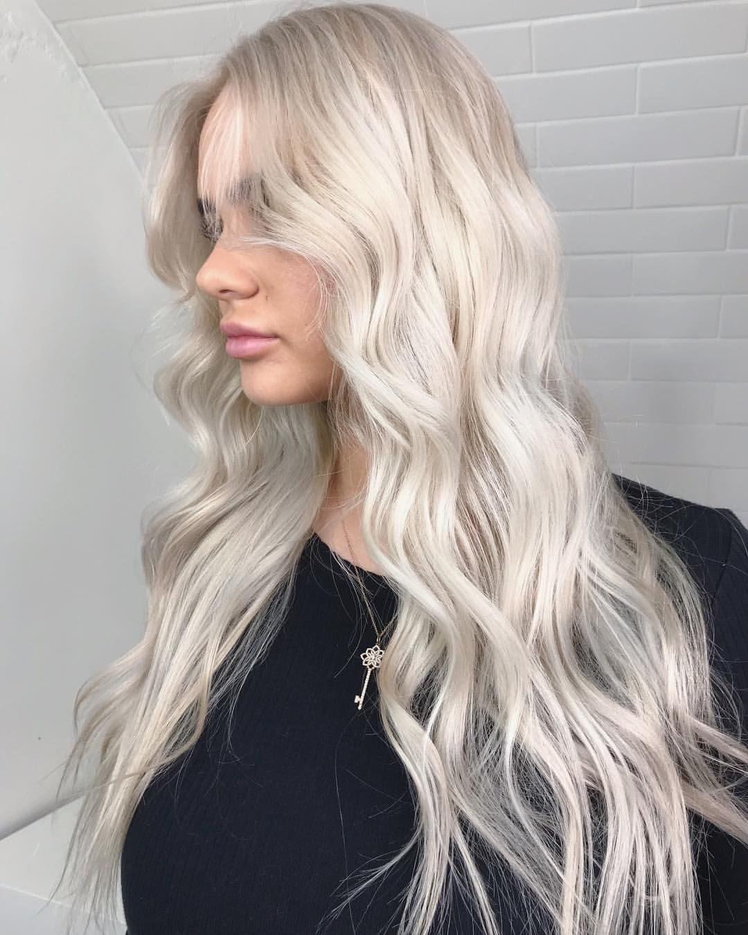 Scandinavian Blonde Just Another Platinum I Absolutely Love Creating These White Blondes On My White Blonde White Blonde Hair Perfect Blonde Hair