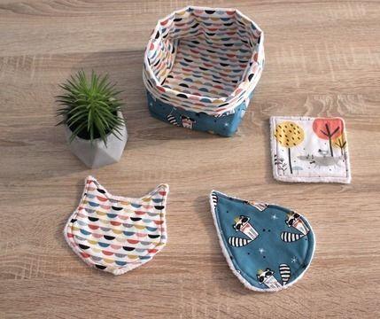 Formation Zéro Déchet : lingettes lavables (3 types) et leur panier