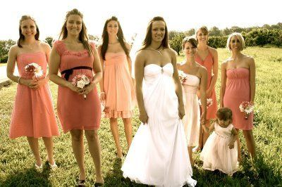 1000  images about bridesmaid dresses on Pinterest | Mismatched ...