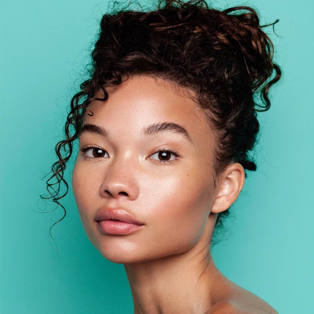 That nomakeup makeup look. Mix a drop or two of our