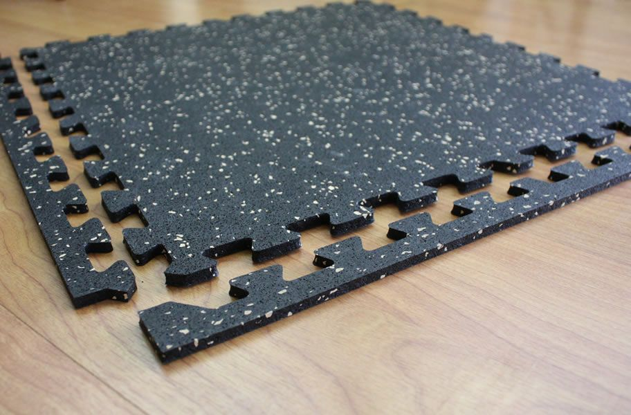 6mm Energy Rubber Tile Low Cost Gym Flooring Rubber Tiles Rubber Flooring Gym Flooring