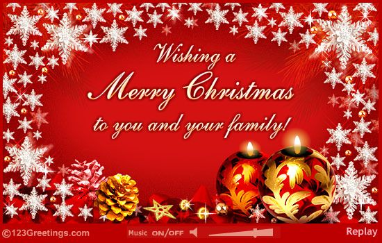 Merry Christmas Musical Greetings From The Raymond Baugniet Family In Belgium Christmas Cards Free Merry Christmas Wishes Printable Christmas Cards