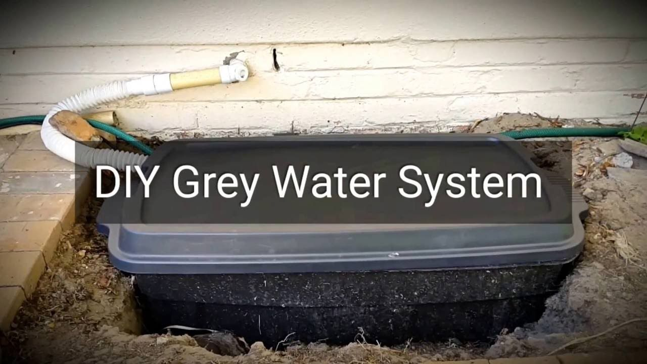 1 Diy Grey Water System With Submersible Pump Overview In