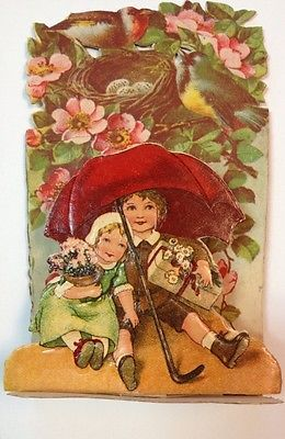 1930s vintage german victorian valentine 3 d chromolitho antique 1930s vintage german victorian valentine 3 d chromolitho antique greeting card m4hsunfo
