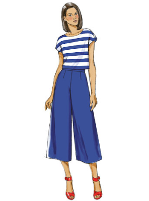 Pattern Review - Butterick 6178 (D) Culottes - Sew