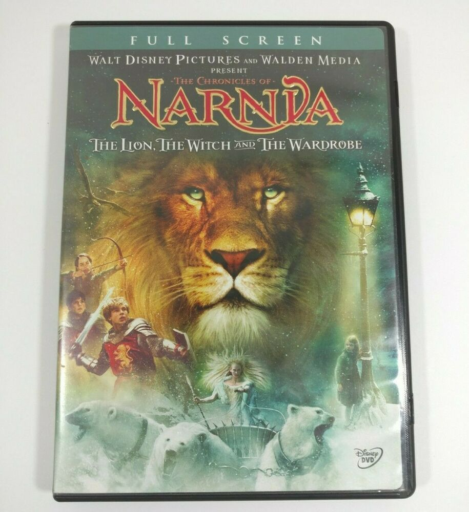 Chronicles Of Narnia The Lion Witch Wardrobe Dvd 2006 Tilda
