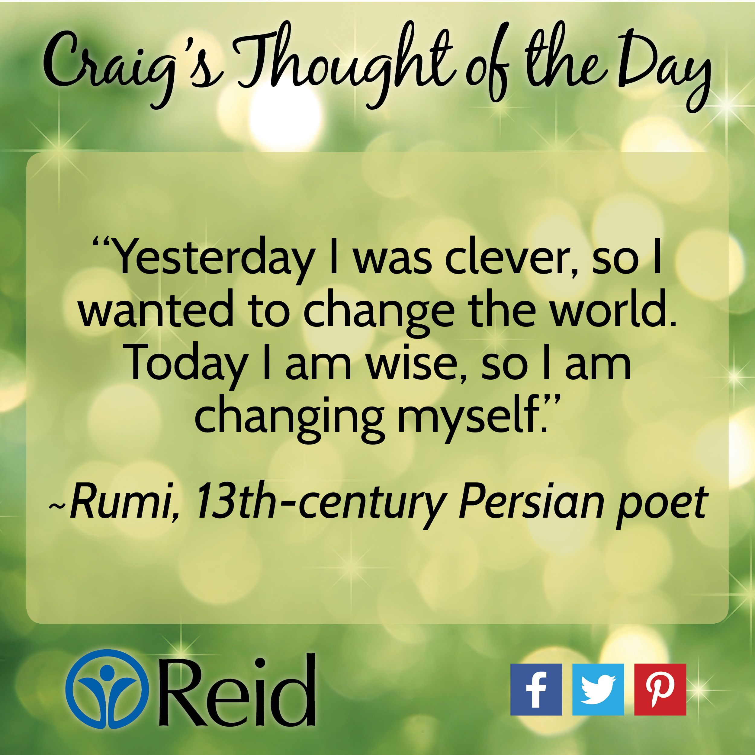 Poet Quotes Rumi 13Thcentury Persian Poet Quote  Thought Of The Day