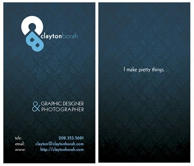 400 creative business card design inspiration logo design blog - Graphic Design Business Ideas