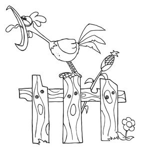 funny crowing rooster clip art | This is For the birds ...