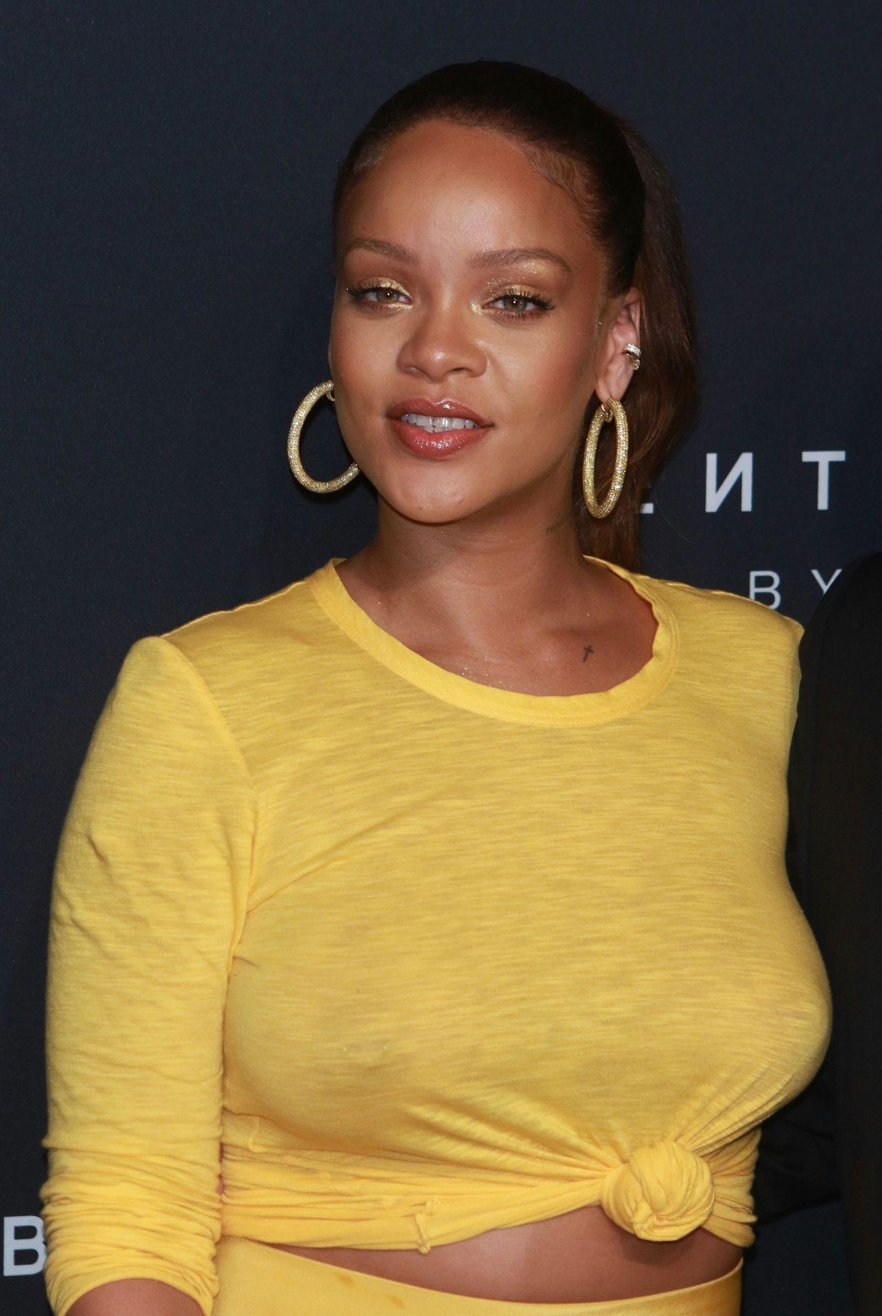 Rihanna Rihanna Fenty Beauty By Rihanna Launch in NYC 07 09 2017