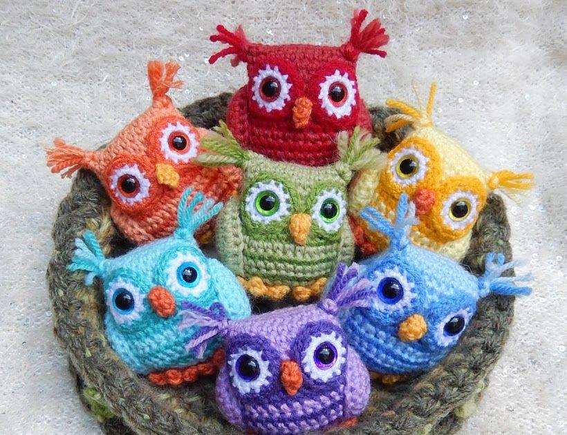 Eule,Häkeln,Anleitung, Kostenlos, | Crochet | Pinterest | Eule ...